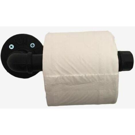 """main image of """"Porte-Rouleau de Papier Toilette Vintage Design Industriel Rétro Métal Tube Support Mural Support Papier Toilette"""""""