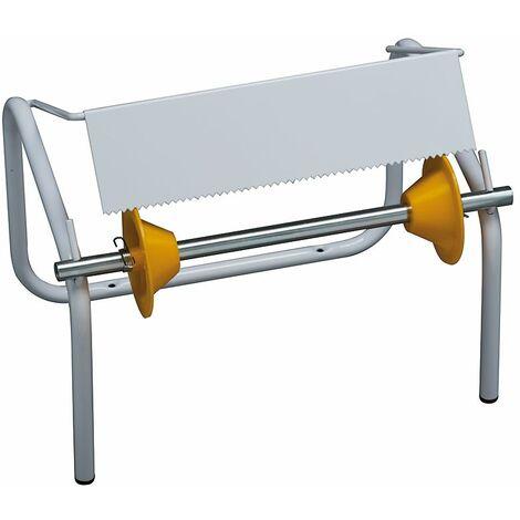Porte-rouleau industriel | acier peint époxy | Blanc | 1 rôle | 932x275x345 | Rolind | 1 pièce | medial