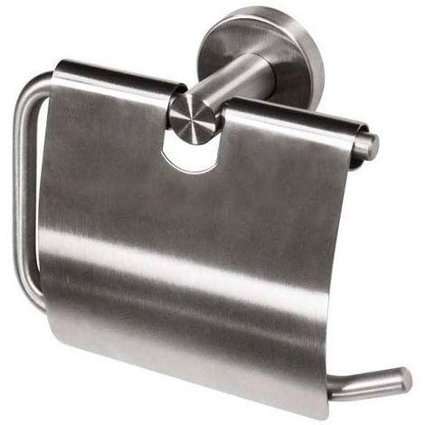 Porte rouleau papier wc - Matériau : Inox - Largeur : 178 mm - Profondeur : 70 mm - Hauteur : 139 mm - Platine : Ø 52 mm - Décor : Brossé - ITAR - Hauteur : 139 mm
