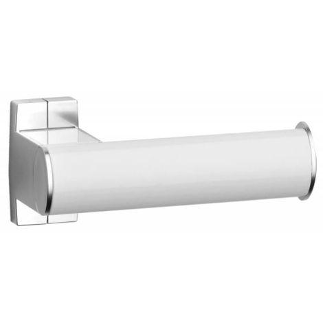 Porte-rouleaux papier WC blanc/chromé mat Arsis