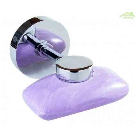 Porte-savon magnètique OMEGA en chrome 1,0x7,0x5,5cm