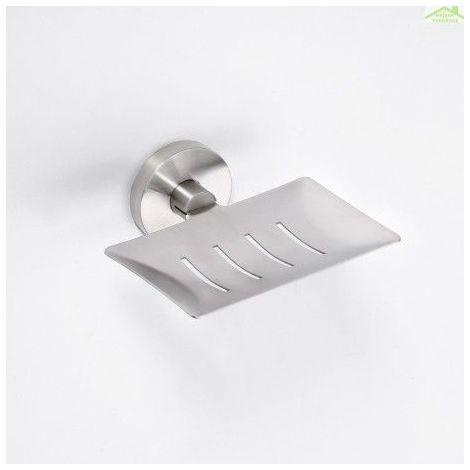 Porte-savon rectangulaire NEO en acier inoxydable 5,5x11,5x12,5cm