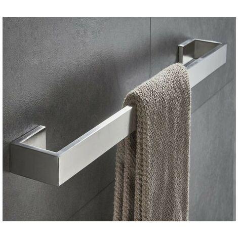 Porte serviette inox 60 cm