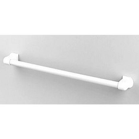 Porte serviette mural 1 barre ABS blanc C-1System SERIES blanc 36 x625 x 75 mm / Couleur: Blanc / Référence: C67501