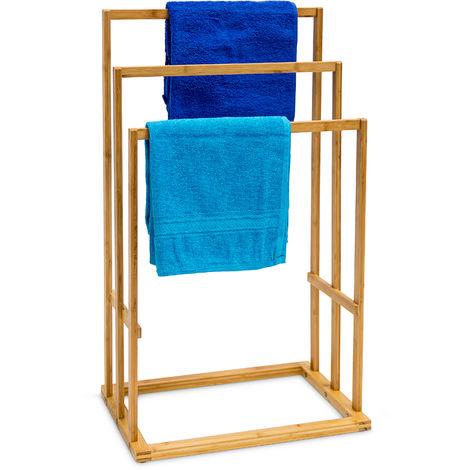 Porte-Serviettes H x l x P: 82 x 43 x 30 cm Vêtements en bois de ...