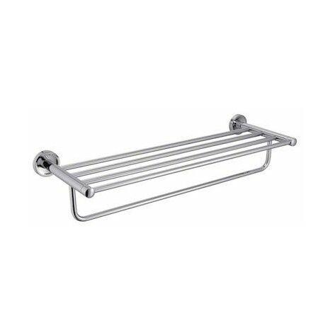 Porte-serviettes rack - Longueur 647mm - Inox