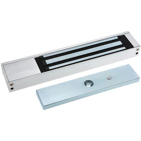 Porte Simple electrique 12V Magnetique Serrure electromagnetique 180Kg (350Lb) Force De Maintien Pour Le Controle D'Acces