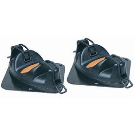 Porte-skis magnetique Igloo pour 2 paires de skis Generique