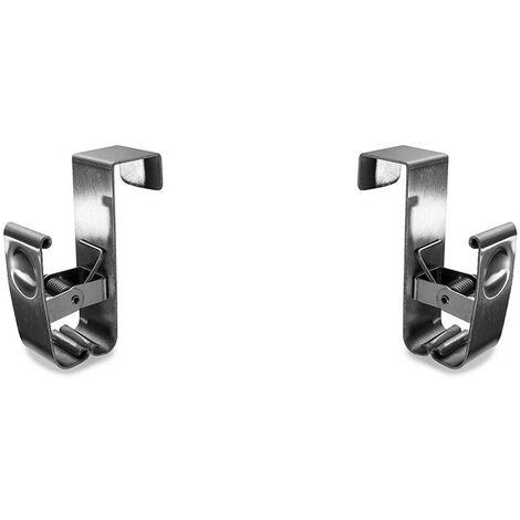 Porte torchon en inox pour tiroir - Lot de 2 - CaliCosy