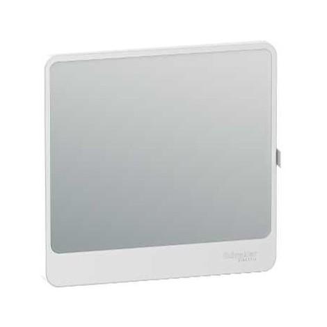 Porte Touch miroir pour coffret de répartition et de communication Resi9 - 13 modules - 1 rangée