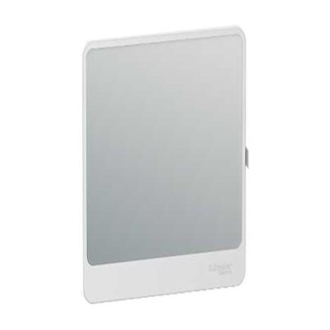 Porte Touch miroir pour coffret de répartition et de communication Resi9 - 13 modules - 3 rangées