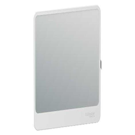 Porte Touch miroir pour coffret de répartition Resi9 - 13 modules - 4 rangées