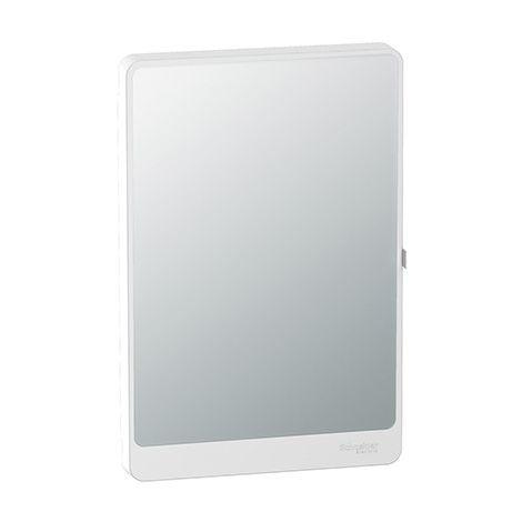Porte Touch miroir pour coffret de répartition Resi9 - 18 modules - 2 rangées