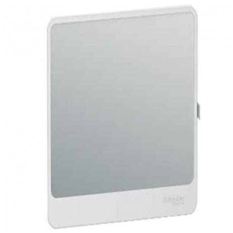 Porte Touch miroir pour coffret de répartition Resi9 - 18 modules - 4 rangées