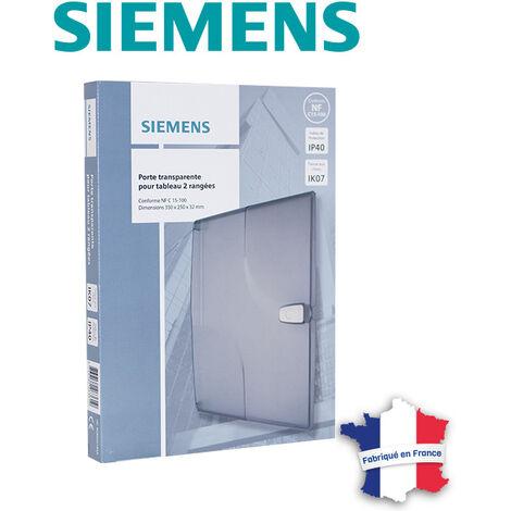 """main image of """"Porte transparente pour tableau électrique 2 rangées - SIEMENS"""""""