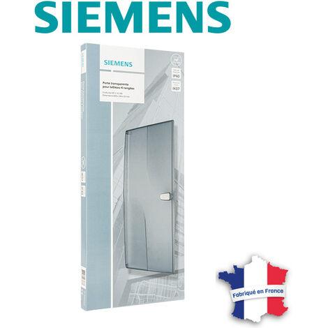 Porte transparente pour tableau électrique 4 rangées - SIEMENS