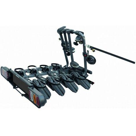 e034e33623e03 Porte-vélo basculant, sur attelage Perruzzo Pure Instinc pour 4 vélos  PVP4-PINA, fixation sur boule ...