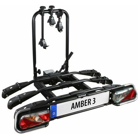 Porte-vélos 3 Vélos Sur Attelage Plateforme Amber Iii - Eufab Eufab