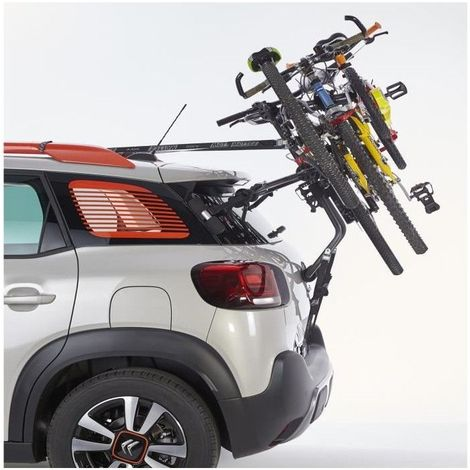 Porte-vélos hayon 3 vélos A016P3 MOTTEZ 182.01