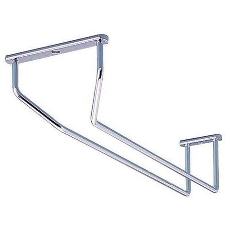 Porte-verres à pied - chromé - ITAR