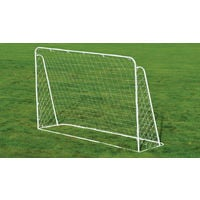 Portería y red de fútbol infantil - Metálica - 213 x 152 cm