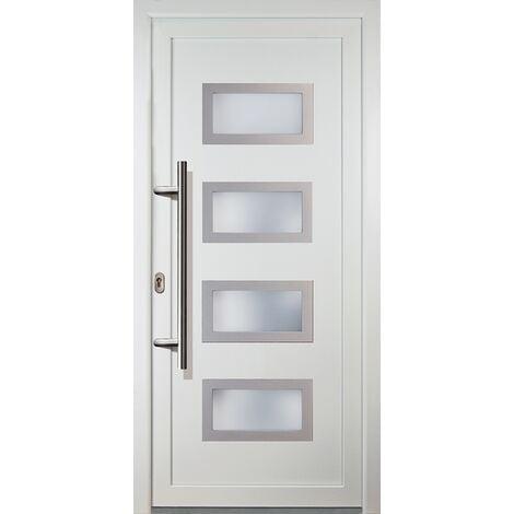 """main image of """"Portes d'entrée classique modèle 92, intérieur: blanc, extérieur: blanc"""""""