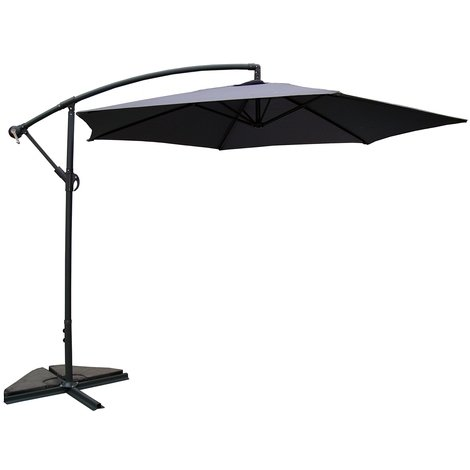 Porticcio : Parasol rond déporté 300cm