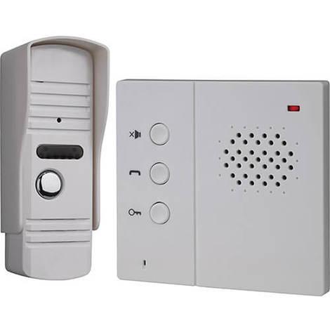 Portier audio filaire avec haut parleur