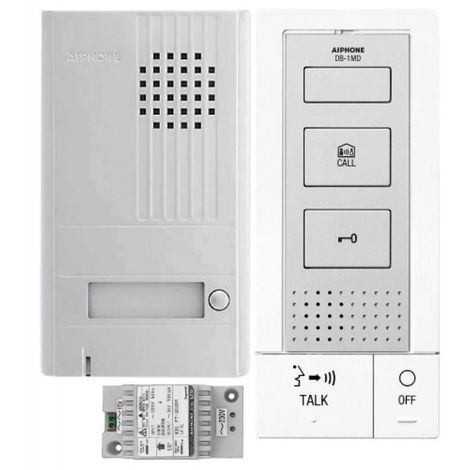Portier audio résidentiel 1 poste en kit DBS1AP