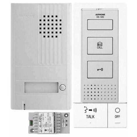 Portier audio résidentiel 2 postes en kit DB2INT