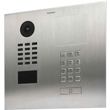 Portier D2101KH - Panneau d'information gravable prémonté - Doorbird - {couleurs}