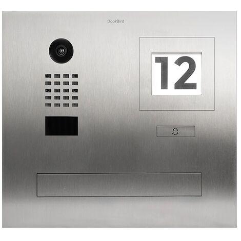 Portier vidéo IP / boite aux lettres avec Lecteur RFID - D2101FPBI Doorbird - {couleurs}