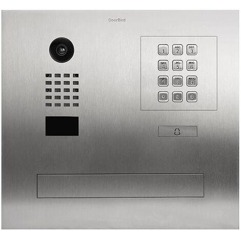 Portier vidéo IP / boite aux lettres avec Lecteur RFID - D2101FPBK Doorbird - {couleurs}