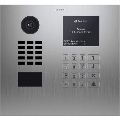 Portier vidéo IP Multi-locataires - Doorbird D21DKH Inox - Argent