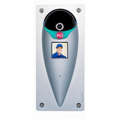 Portier vidéo IP wifi / 4G - Hi) Fenotek - Gris