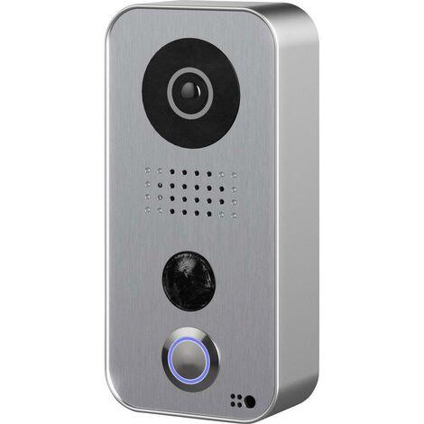 Portier vidéo IP wifi Doorbird D101 Argent - Argent
