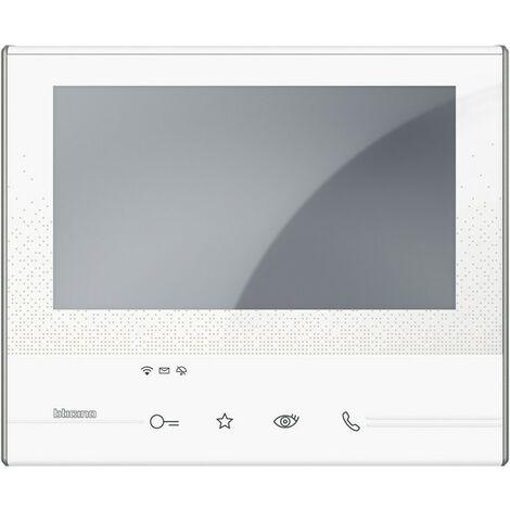 PORTIER VIDÉO PORTIER TÉLÉPHONIQUE CLASSE 100 CONNECTÉ 2-FILS WI-FI COULEUR LCD ÉCRAN COULEUR 344682