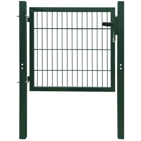 Portillon Acier Vert 103x150 cm