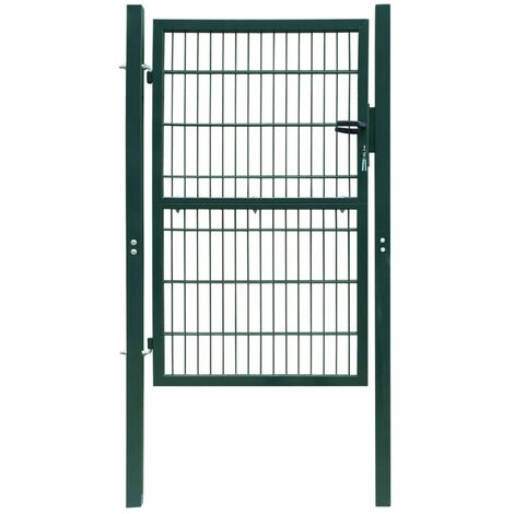 Portillon de jardin 2D (Single) Vert 106 x 170 cm HDV04126