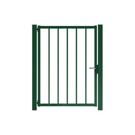 Portillon Jardin Barreaudé Vert JARDIPLUS - 1 mètre