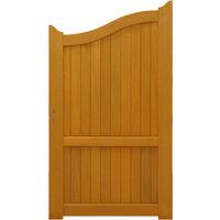 PORTILLON en bois exotique 'plein' largeur 1 m hauteur 1,60/1,80