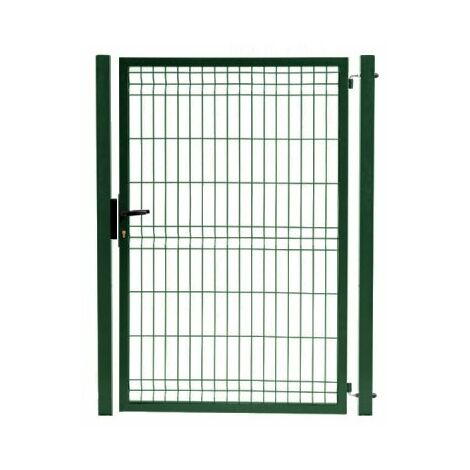 Portillon Jardin Grillagé - JARDIPRO - 2,10 mètre - Vert