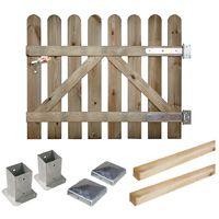 Portillon jardin bois à prix mini