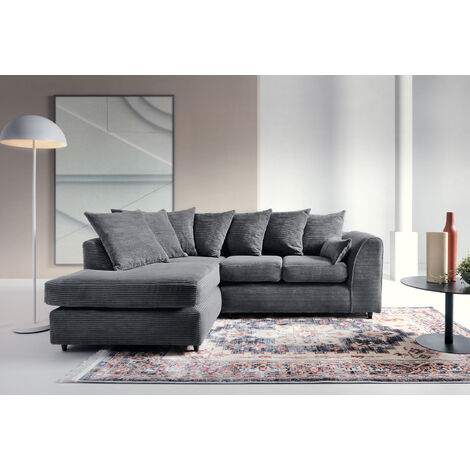 "main image of ""Jumbo Cord Corner Sofa"""