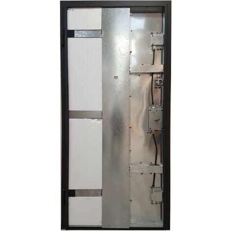 Portone Blindato classe 3 Basic con controtelaio e accessori. Pannelli esclusi