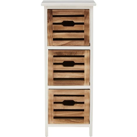 Portsmouth drawer chest, 3 drawer, medium-density fibreboard