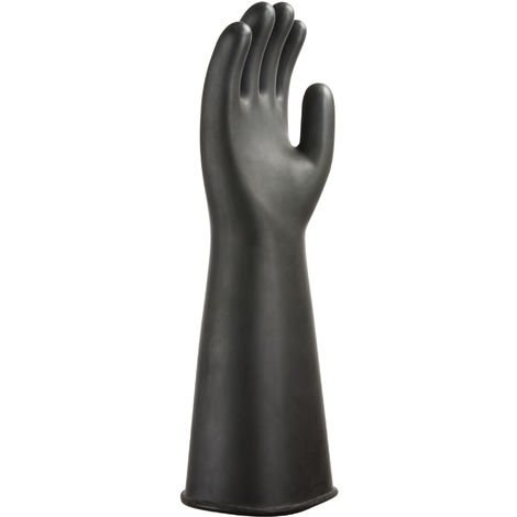 Portwest - 1 Pair Pack Heavyweight Latex Rubber Gauntlet Glove