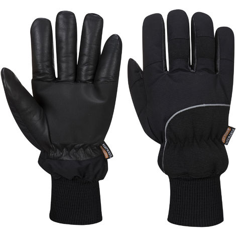 Portwest - Apacha Cold Store Thermal Pro Glove One Pair Pack, Black, L,