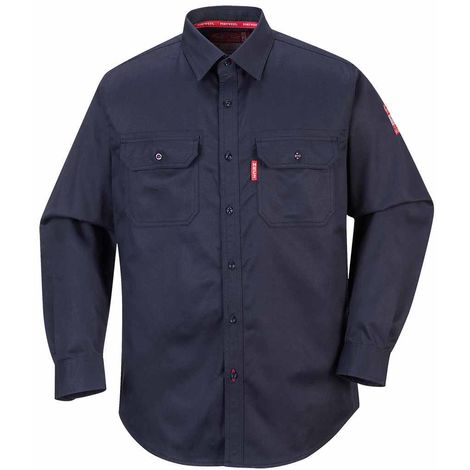 Portwest - Biz Flame Flame Resistant Safety Workwear 88/12 Shirt