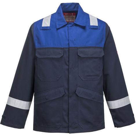 Portwest - Bizflame Plus Flame Rsistant Hi-Vis Safety Workwear Jacket